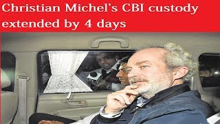 VVIP chopper scam: Christian Michel's CBI custody extended by 4 days - NEWSXLIVE