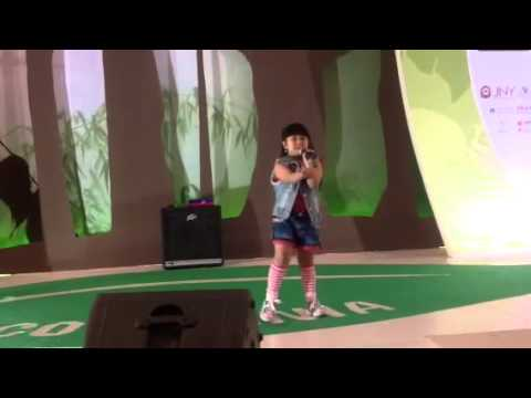 Just give me a reason sing by 7 years old shanti