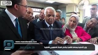بالفيديو.. وزير التخطيط ومحافظ القاهرة يفتتحان المركز التكنولوجي بحي المطرية