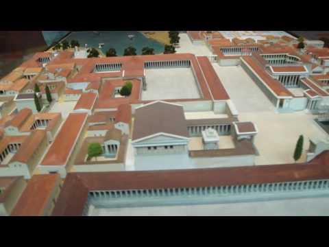 Berlin - Pergamonmuseum - Maqueta de la ciudad de Mileto