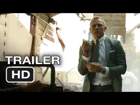 Skyfall Official International Trailer (2012) James Bond Movie HD