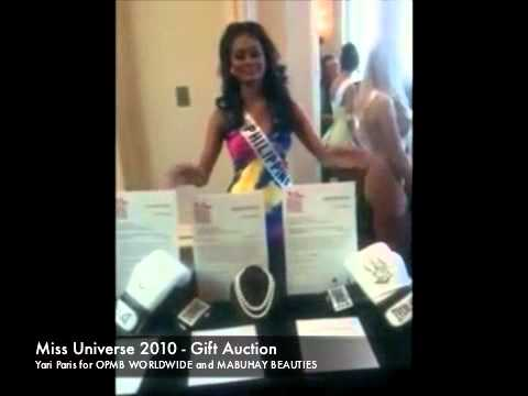 Miss Universe 2010 - Gift Auction