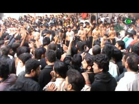 Zanjeer Zani 10 Muharram 1432 A.H - Jaffria Colony Lahore - Part 2
