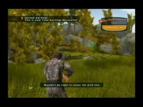 Cabela s Big Game Hunter Wii 2 .wmv