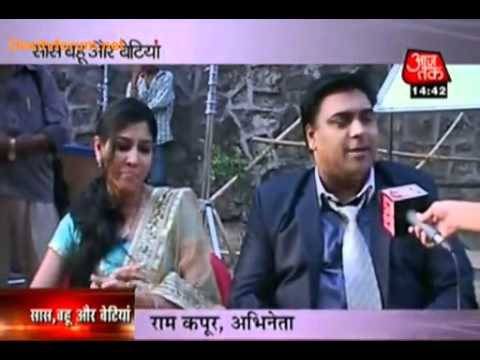 bade achche lagte hain-On the sets Ram and Sakshi at SBB