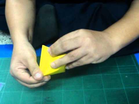 การพับกระดาษสามมิติ