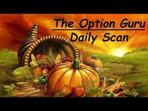 Daily Scan for Tuesday, November 25, 2014
