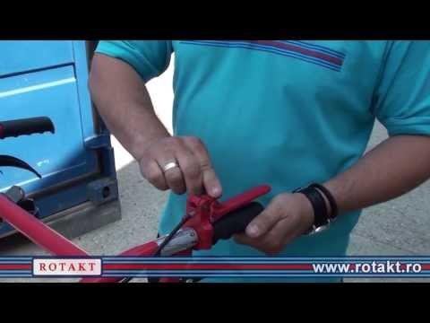 Instructiuni de pornire motocultor diesel ROTAKT ROG135