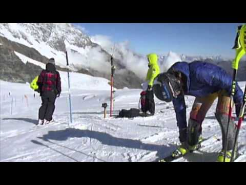 Women's Canadian Alpine Ski Team - Saas Fee camp - sept 2012