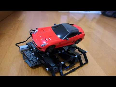 Lego Technic Incline Car Ferrari 599GTO Red