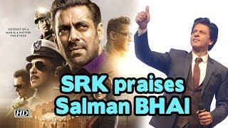 SRK praises Salman BHAI's 'BHARAT' trailer - IANSINDIA