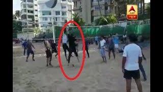 Akshay Kumar plays Volley Ball on beach - ABPNEWSTV