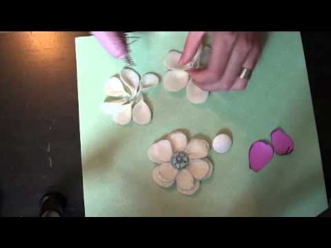 Tutorial: Layered Felt Flowers