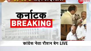 Karnataka Breaking: BS Yeddyurappa resigns as CM before Floor Test - ZEENEWS