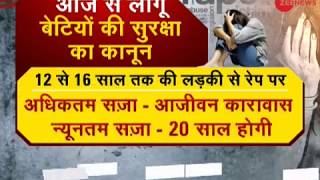 Applicable from today: Cabinet's ordinance on death penalty for raping child below 12 years - ZEENEWS