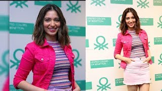 Tamannah Launches United Colors of Benetton Summer Collections - RAJSHRITELUGU