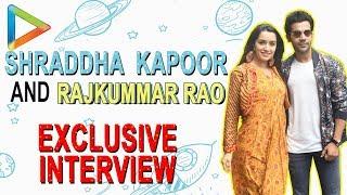 "Shraddha Kapoor: ""I will makes sure Gabbar Singh is in a good mood so that …"" | TEASER | Rajkummar - HUNGAMA"