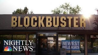 The Last Blockbuster In The U.S. | NBC Nightly News - NBCNEWS