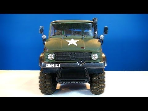 RC ADVENTURES - MERCEDES-BENZ Military UNiMOG 406 Series - U900 - (CC01 Chassis) Unboxing