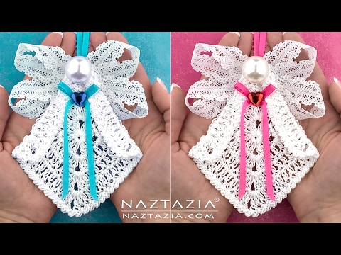 DIY Tutorial Learn How to Crochet My Sweet Angel Decoration