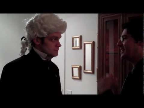 Alexander Hamilton Gets Wigged
