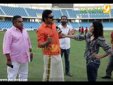 Kerala actress and directors 11th cricket match