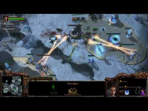 Starcraft 2: Heart of the Swarm - No Commentary Walkthrough 1080p HD Mission 4