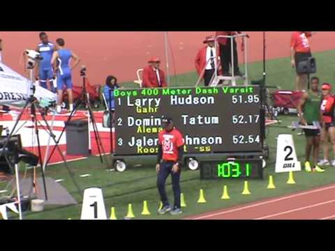 Redondo Invitational: Boys 400 Heat 7