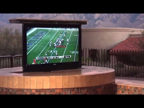 Backyard BBQ TV Lift