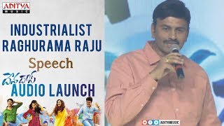Industrialist Raghurama Raju Speech @ Devadas Audio Launch || Akkineni Nagarjuna, Nani - ADITYAMUSIC