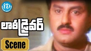 Lorry Driver Movie Scenes - Balakrishna Releases From Jail || Vijayashanti || B Gopal - IDREAMMOVIES