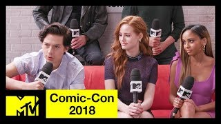 'Riverdale' Cast on Season 3, Character Deaths & More! | Comic-Con 2018 | MTV - MTV