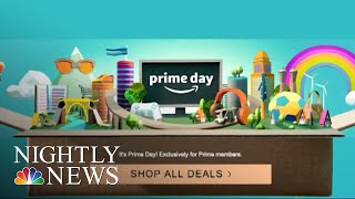Amazon Site Crashes On Prime Day | NBC Nightly News - NBCNEWS