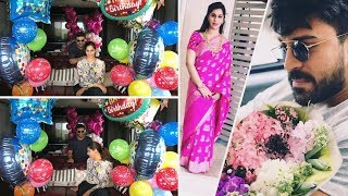 Ram Charan Wife Upasana Konidela Birthday Celebration Photos | Tollywood Updates - RAJSHRITELUGU