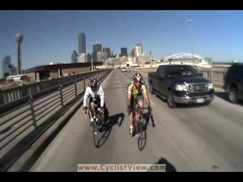 Lane Control in Dallas: Crossing the Houston St Viaduct