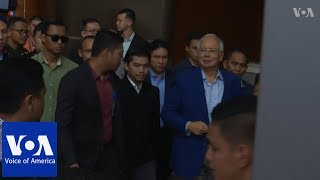 Anti-Corruption Commission Questions Former Malaysian Leader - VOAVIDEO
