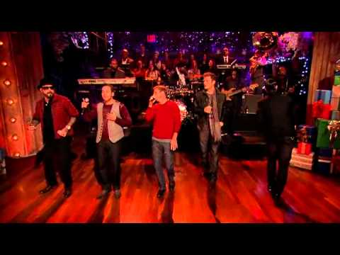 Backstreet Boys on Jimmy Fallon 2012 - As Long As You Love Me