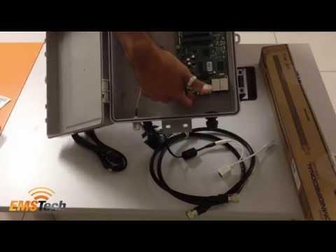 Unboxing: Kit Provedor Profissional Mikrotik RB433 + Mini PCI de 1600mW com HotSpot
