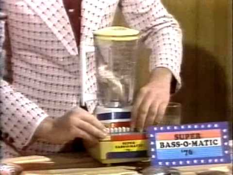Super Bass-O-Matic 76: Best Dan Aykroyd Saturday Night Live Skit Ever!