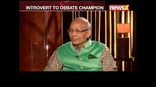 Introvert to debate champion 'Abhishek Singhvi' exclusive interview | Legally Speaking - NEWSXLIVE