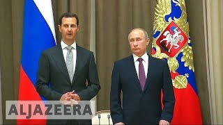 Assad and Putin meet to discuss post-war phase in Syria - ALJAZEERAENGLISH