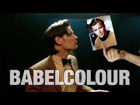 Babelcolour Tribute: White & Nerdy - The Rise of the Eleventh