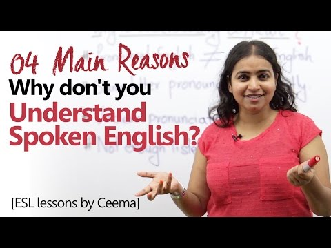 Why don't you understand Spoken English? Learn English the right way - Speak English Fluently