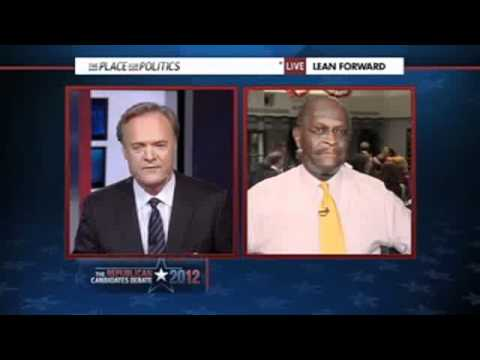 Herman Cain Takes On Entire MSNBC Roundtable After Debate