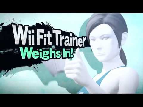 Super Smash Bros for Wii U - Wii Fit Trainer Joins the Fight