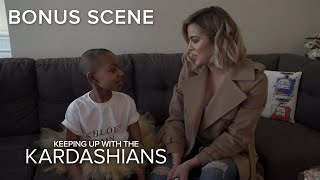 KUWTK | Khloé Kardashian Visits Cancer Patient Hailey Cordova | E! - EENTERTAINMENT
