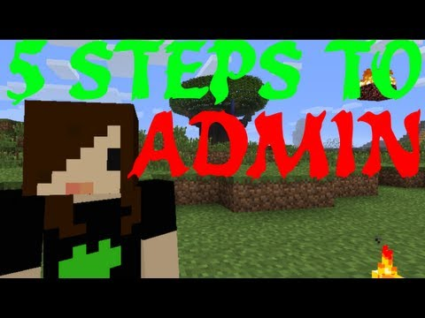 5 Steps to Becoming an Admin Minecraft