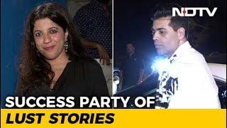 Karan Johar, Zoya Akhtar & Others At The Success Party Of Lust Stories - NDTV