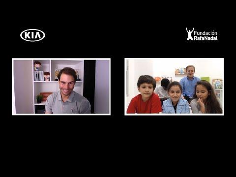 Autoperiskop.cz  – Výjimečný pohled na auta - Rafael Nadal a Kia se spojili v úsilí inspirovat děti během pandemie
