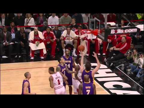 Derrick Rose Highlights vs. Lakers 12/10/10 [HD 720p]